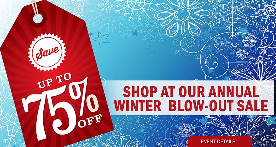 CAROUSEL - WINTER BLOW OUT SALE