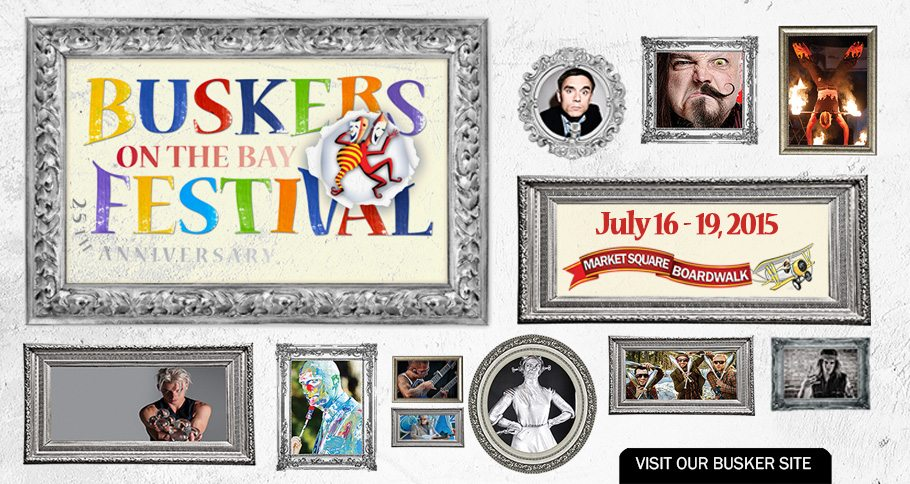 HOMEPAGE SHOWCASE  - BUSKER EVENTS