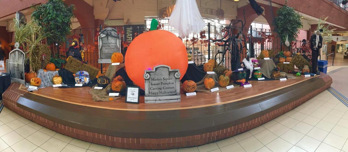 Tenant pumpkin carving contest market square