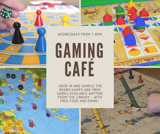 Gaming Cafe hosted by the Saint John Free Public Library – Market Square