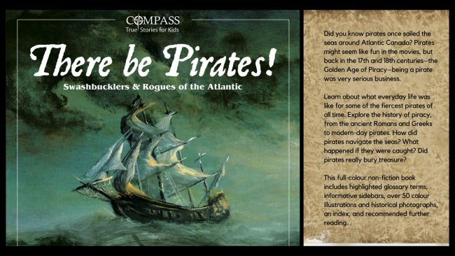 There Be Pirates! Book Launch hosted by the Saint John Free Public